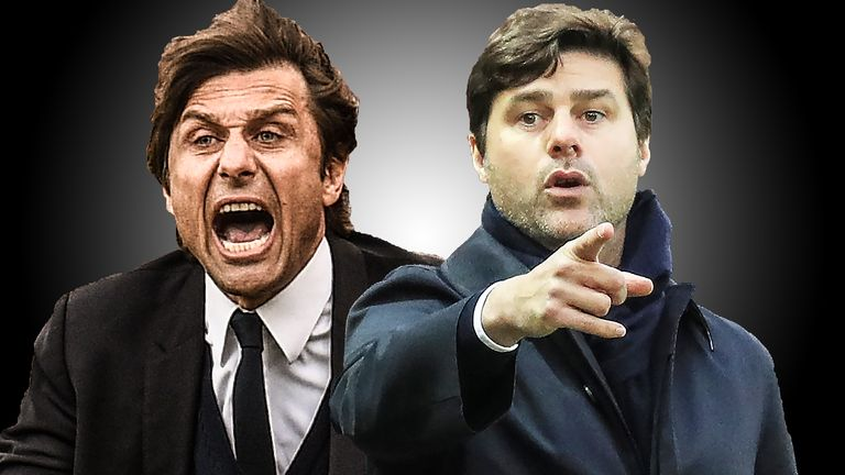 Antonio Conte and Mauricio Pochettino have been among the best bosses