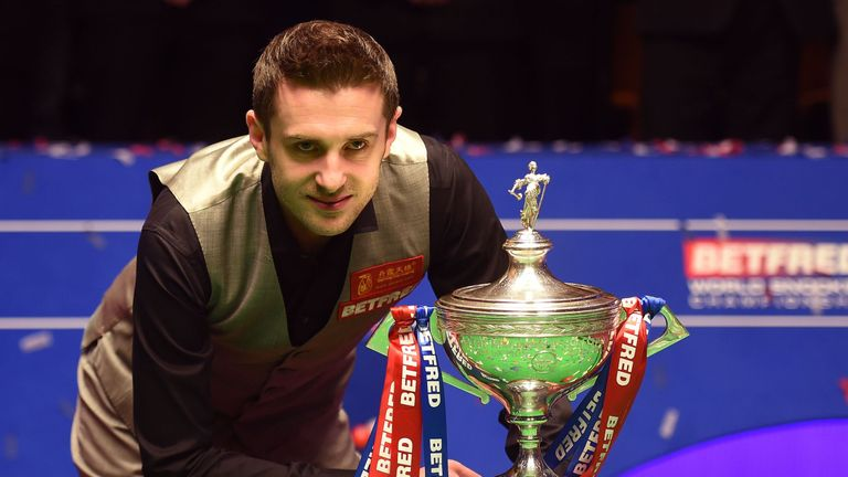 Mark Selby will open up his title defence against Fergal O'Brien