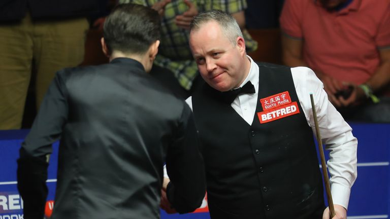 John Higgins (right) says Selby is 'without doubt' among snooker's greatest