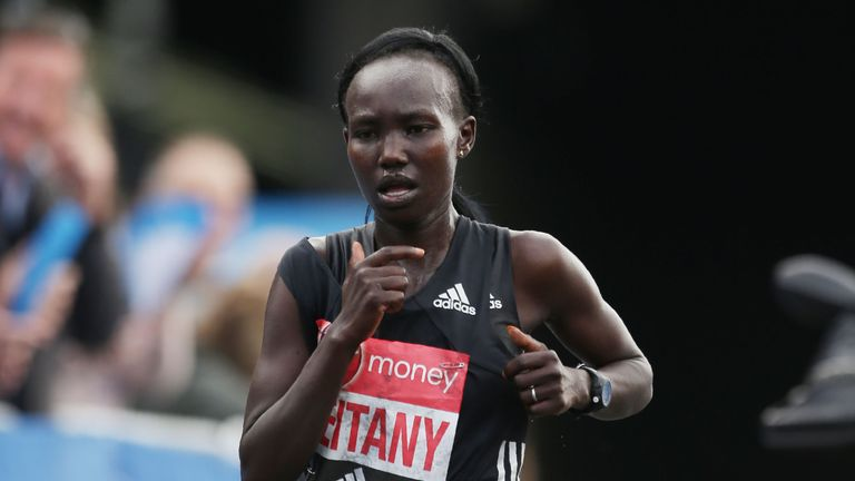 Mary Keitany savours 'amazing' London marathon victory in record-breaking time