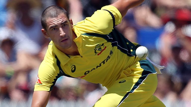 Mitchell Starc has taken 129 ODI wickets at 19.88 apiece