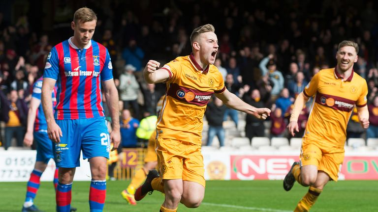 Allan Campbell netted in Motherwell's much-needed victory over relegation-threatened Inverness