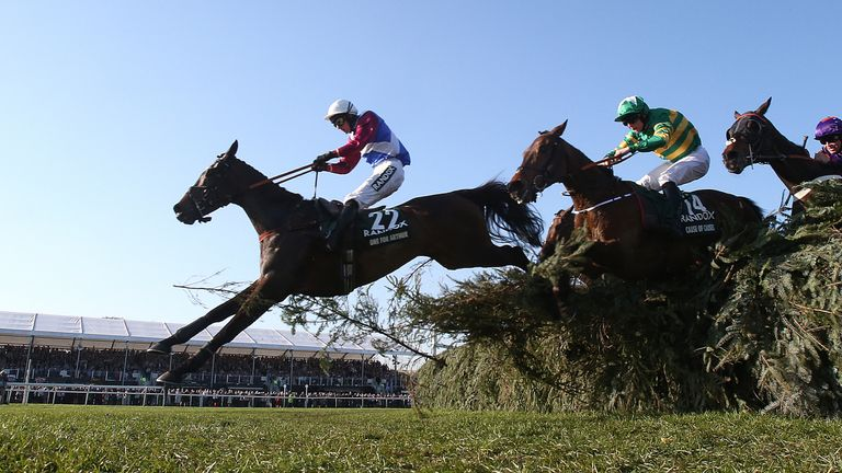 The Grand National takes place at Aintree in April