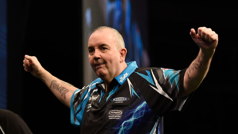 Can Phil Taylor win the tournament again? (Picture: Michael Cooper)