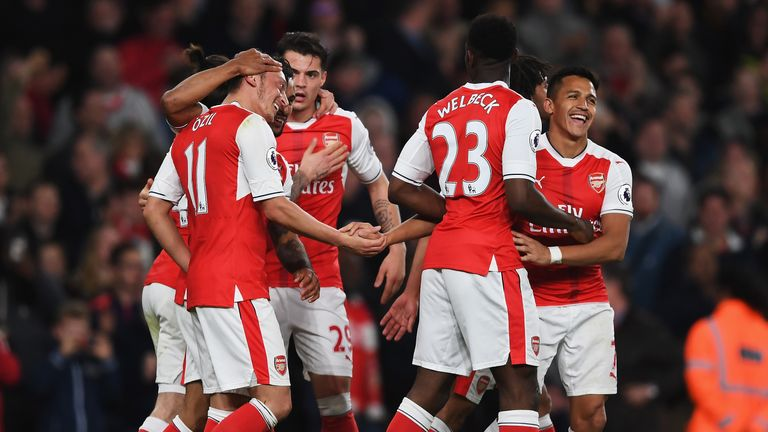 Arsenal claimed a much-needed win at the Emirates