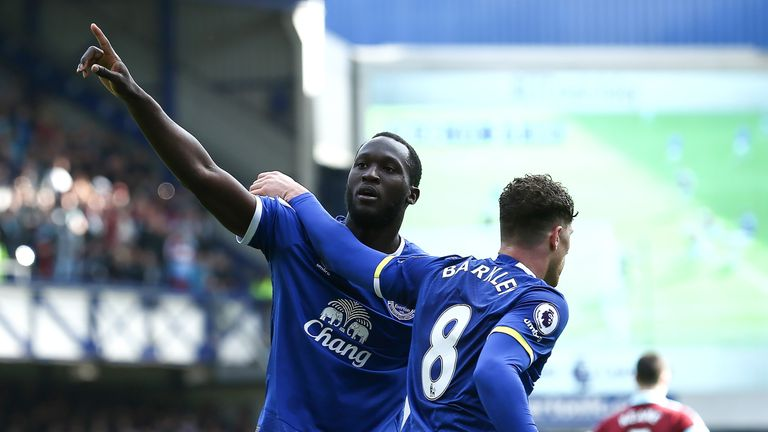 Romelu Lukaku was named Everton's Player of the Season, after scoring 24 league goals last campaign