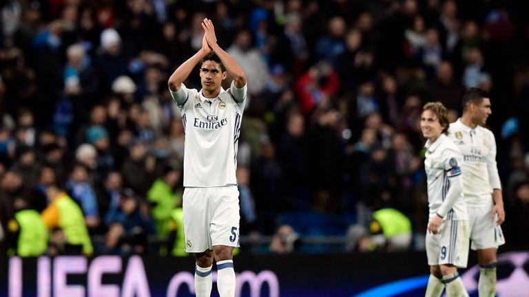 Raphael Varane remains a target for Man Utd, according to Sky sources