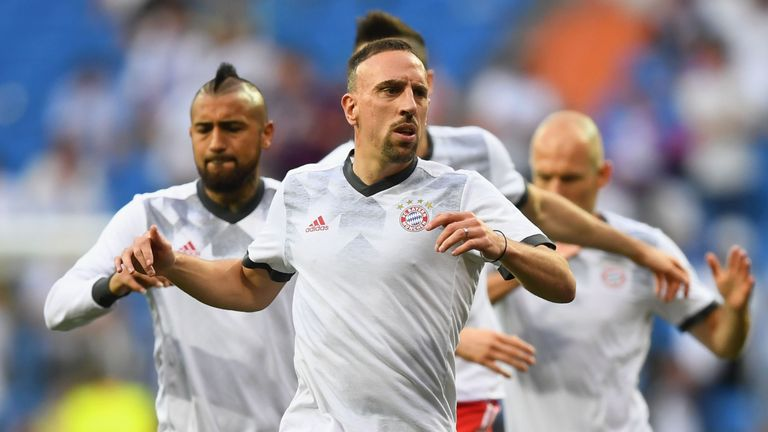 Franck Ribery may be set to return to Ligue 1