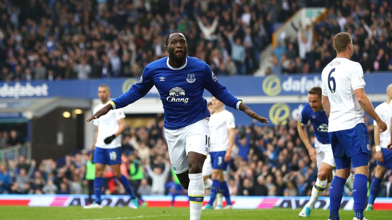 Romelu Lukaku has scored 24 Premier League goals for Everton this season