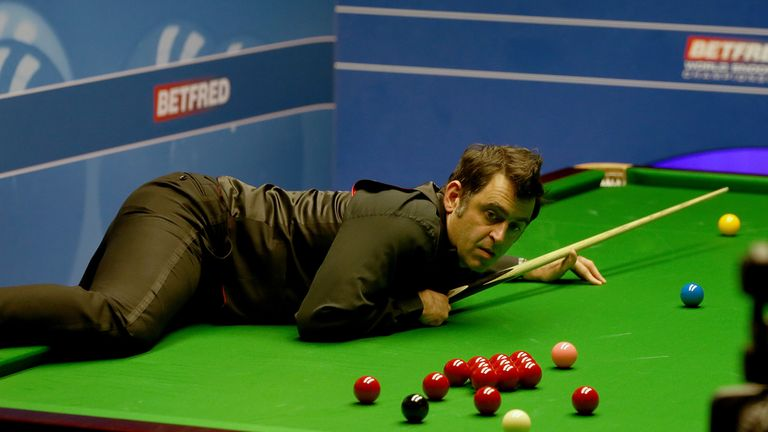 O'Sullivan made accusations after his first-round win over Gary Wilson at the World Championship