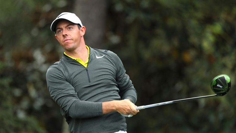Rory McIlroy is aiming to win his first Green Jacket