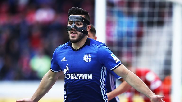 Kolasinac has been heavily linked with the Gunners