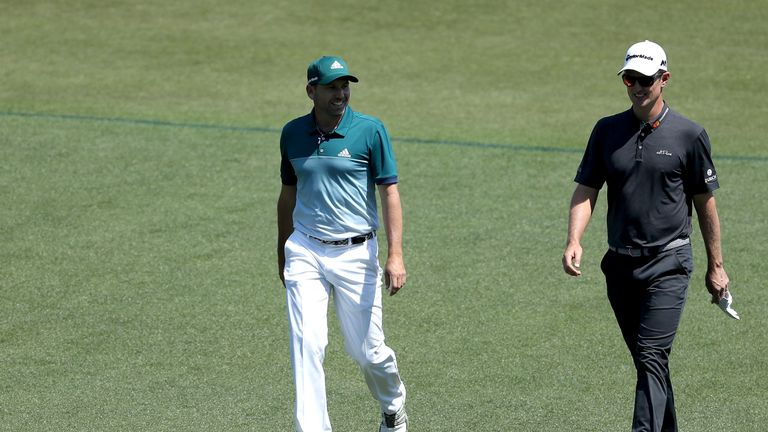 Garcia held off Justin Rose in a thrilling final-day duel