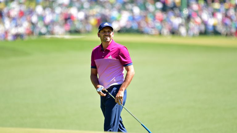 Garcia dedicates magical Masters win to childhood idol