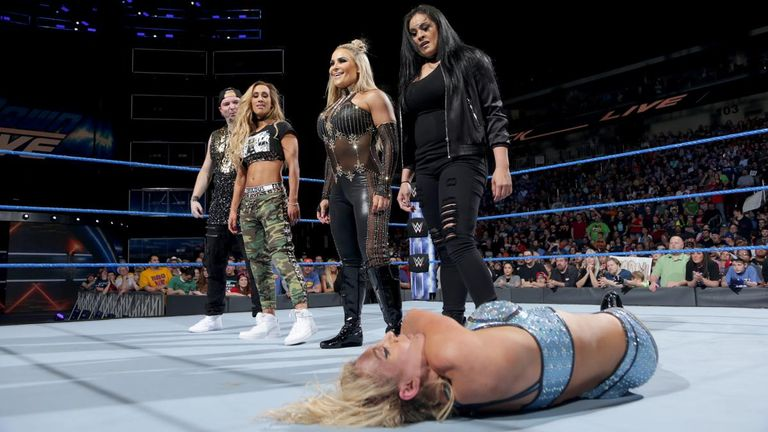 New WWE Faction Shocks The Women's Championship Match