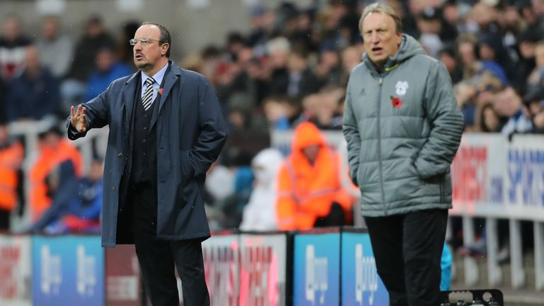 Rafa Benitez leads Newcastle to promotion but is coy on future