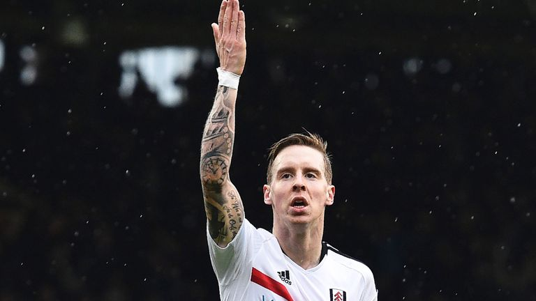 Johansen's two goals cemented Fulham's place in the Championship top six