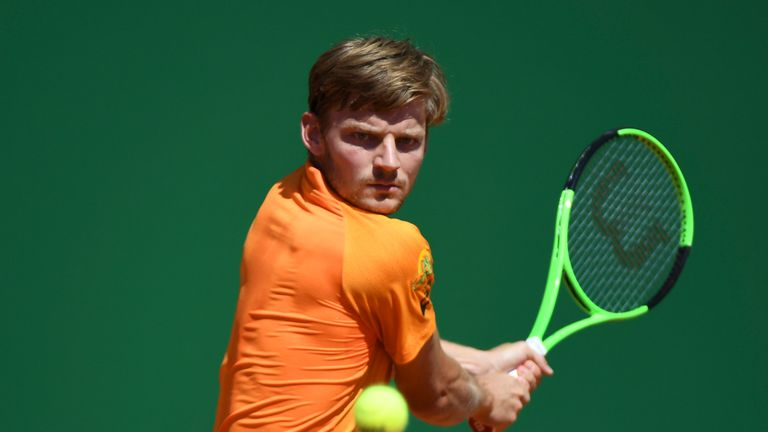 Goffin downs Djokovic to set up possible Nadal showdown