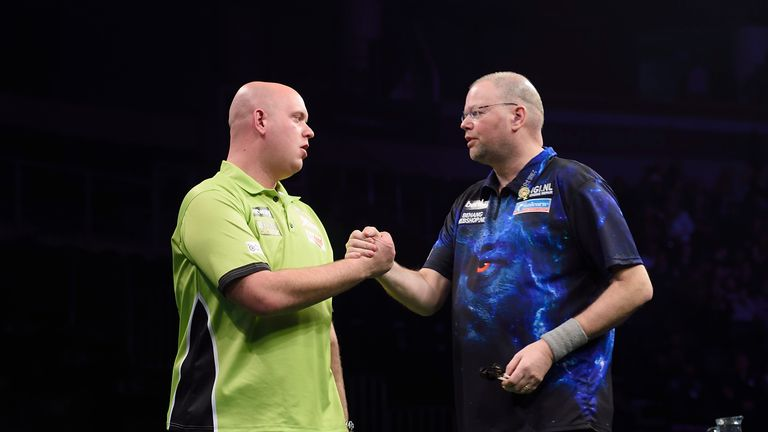Michael van Gerwen and Raymond van Barneveld are the Dutch dream team