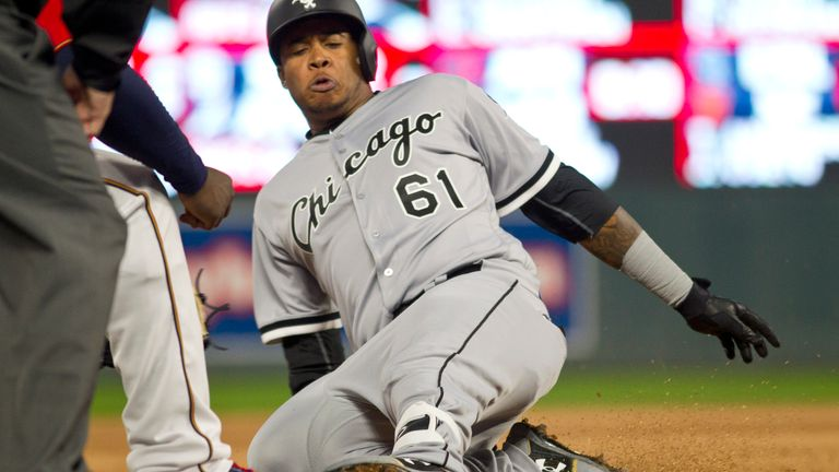 Willy Garcia made a memorable MLB debut on Friday alongside two players who share his surname