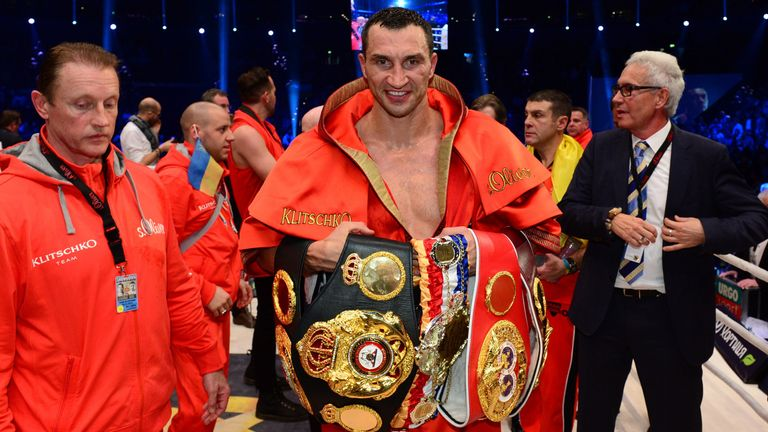 Klitschko is hoping to claim Joshua's IBF belt and the vacant WBA title