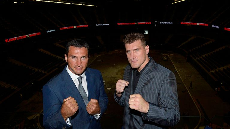 Klitschko had kinds words to say about Wilder at the Mariusz Wach press conference