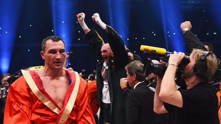 Wladimir Klitschko suffered his first loss in over 10 years when he was defeated by Tyson Fury in November 2015