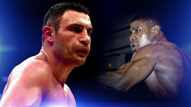 I 'won't let mum watch me' fight Klitschko, says Joshua