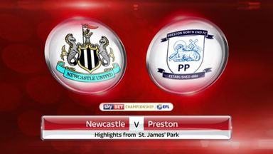 Newcastle 4-1 Preston