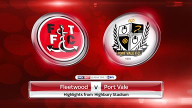 Fleetwood 0-0 Port Vale