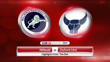 Millwall 0-3 Oxford Utd