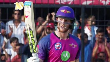 Ben Stokes strikes his maiden IPL fifty, against Kings XI