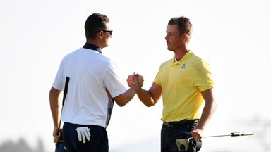 Henrik Stenson and Justin Rose feature in New Orleans