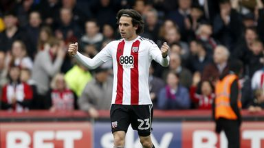 Jota scored two goals in the second half for Brentford