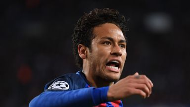 Neymar has been linked with a move to Paris Saint-Germain