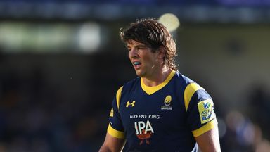 Donncha O'Callaghan signed for Worcester in 2015