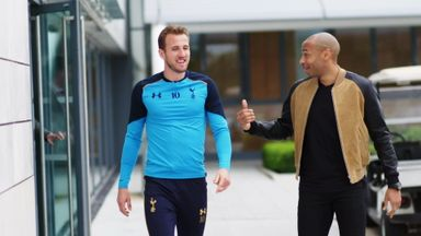 Thierry Henry meets Harry Kane