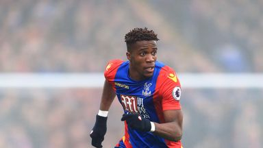 Wilfried Zaha was a target for Tottenham last summer and has had an excellent season