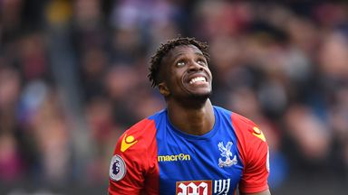 Wilfried Zaha has thanked the
