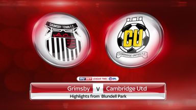 Grimsby Town 2-1 Cambridge Utd