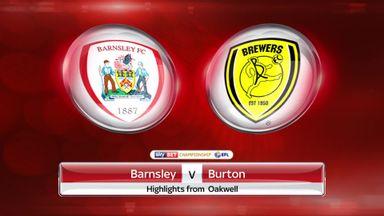 Barnsley 1-1 Burton