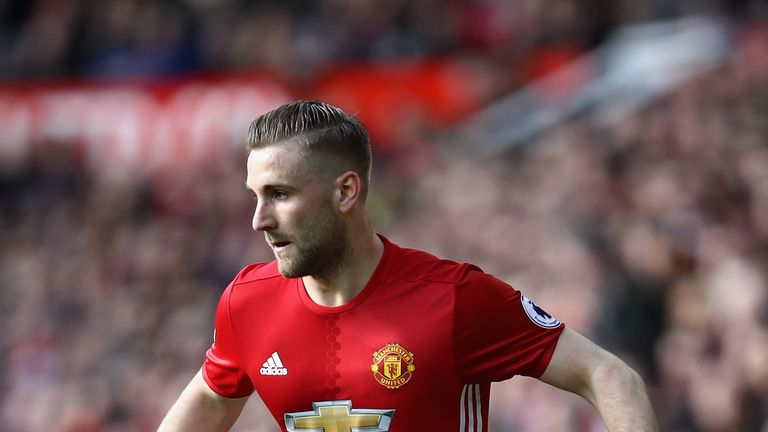 Luke Shaw has not had too many first team opportunities this season
