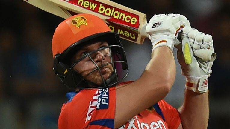 Aaron Linch of Gujarat Lions