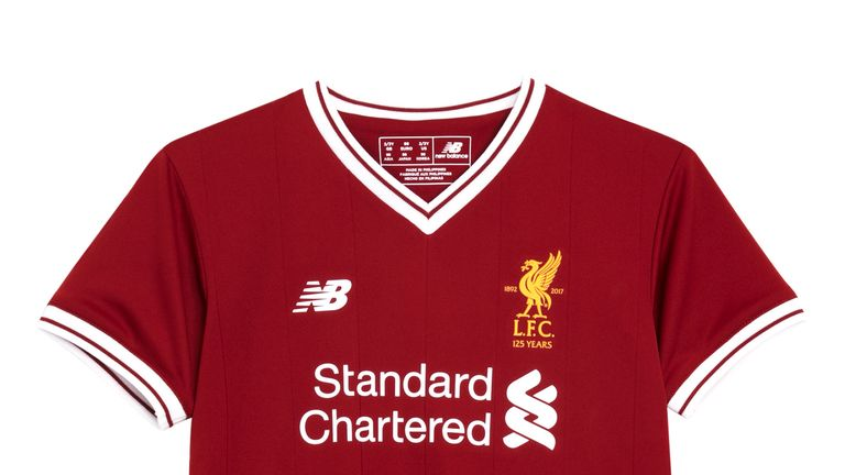 New Liverpool kit for 2017/18 season (Pic courtesy of Liverpool FC)