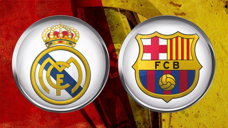 Real Madrid v Barcelona