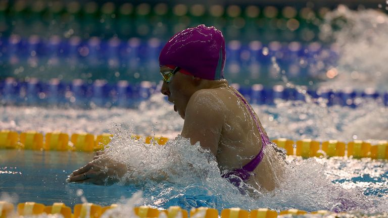 Siobhan-Marie O'Connor was pipped to gold in the 100m breaststroke final on Sunday