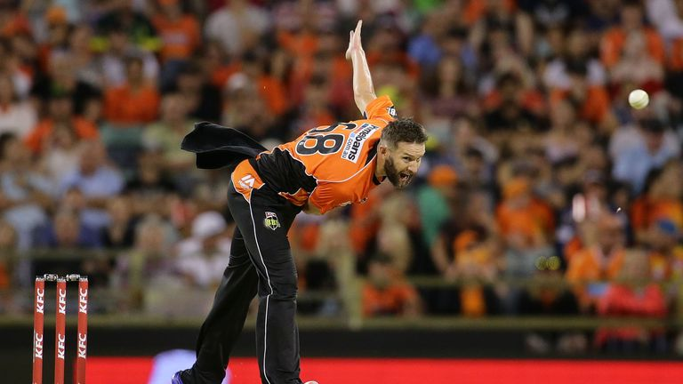 Andrew Tye is unable to join Gloucestershire for this summer's NatWest T20 blast