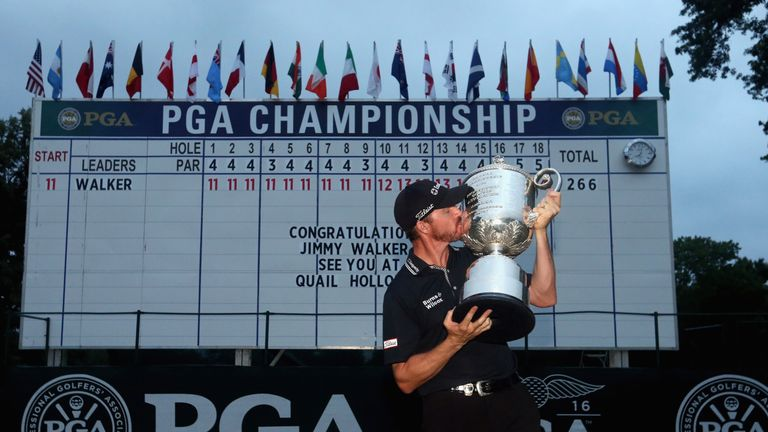 Jimmy Walker denied Day back-to-back PGA titles