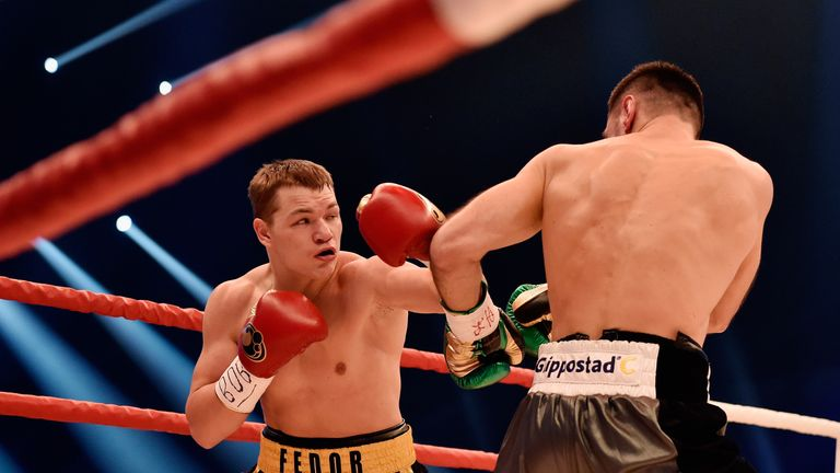 Fedor Chudinov was the WBA 'super' champion before facing Felix Sturm