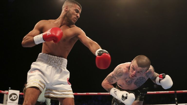Gamal Yafai wins the battle of Birmingham against Sean Davis